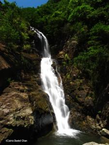 天梯崖瀑布